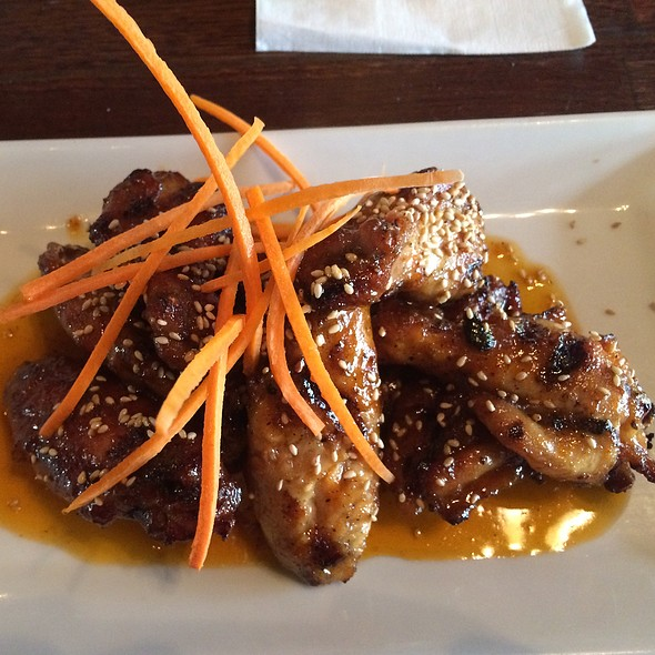 Ginger and Sesame WIngs - The Pot Au Feu, El Paso, TX