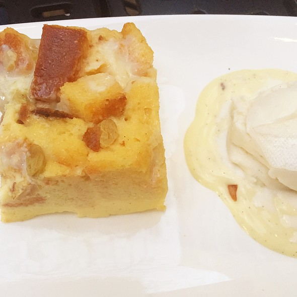 White Chocolate Bread Pudding - Grand Cru Wine Bar & Bistro, Arlington, VA