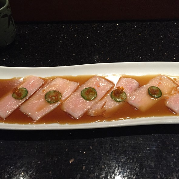 yellowtail sashimi - Koto Japanese Steakhouse - VT, South Burlington, VT