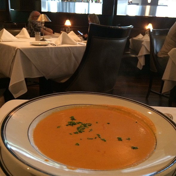Lobster Bisque - The Grill on the Alley - Aventura, Aventura, FL