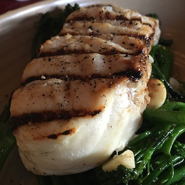 Simply Grilled Halibut - Pacifica Del Mar, Del Mar, CA