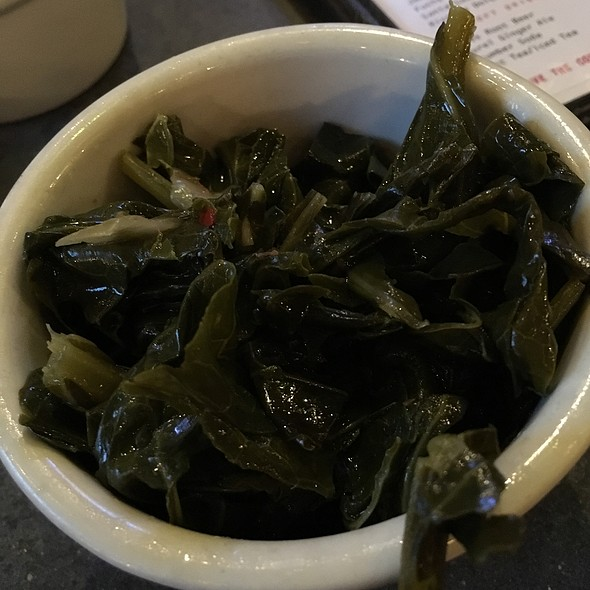 Collard Greens - Percy Street Barbecue, Philadelphia, PA