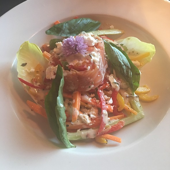 Vegetable Salad W/Salmon - Foundations, Tulsa, OK