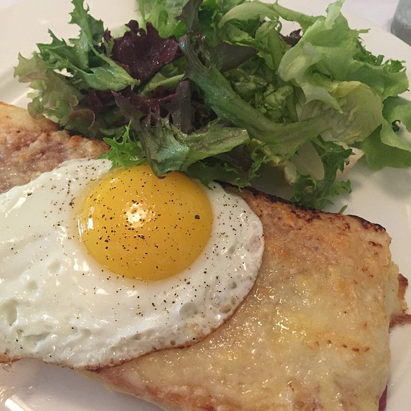 croque monsieur - Cafe Luxembourg, New York, NY