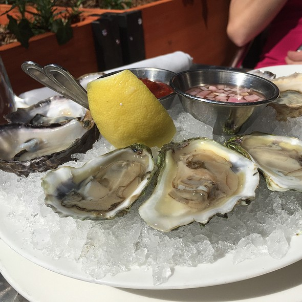 Oysters on the Half Shell - North End Grill, New York, NY