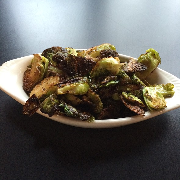 Caramelized Brussels Sprots - Edibles Restaurant, Rochester, NY