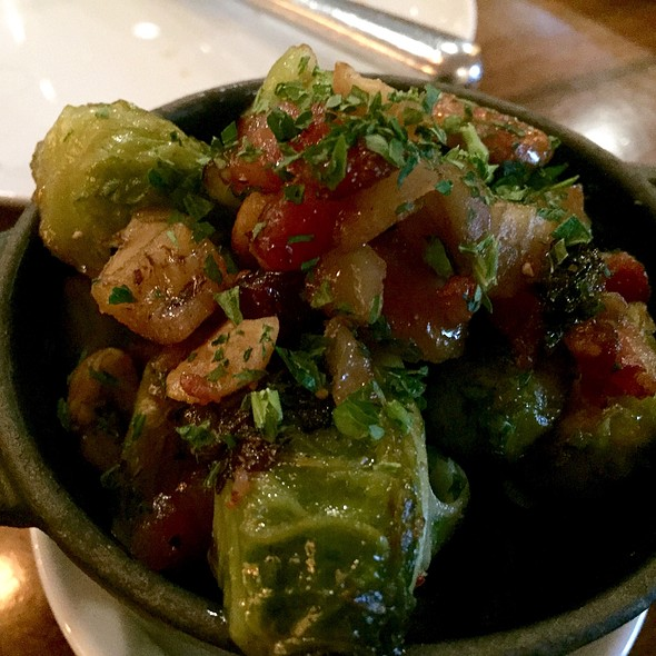 Brussels Sprouts With Bacon - BLT Steak Atlanta, Atlanta, GA