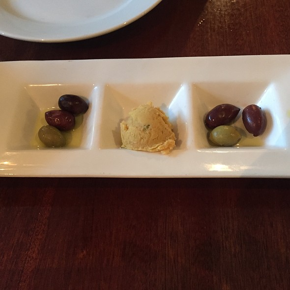 Complimentary Appetizer - Faros Restaurant, Brooklyn, NY