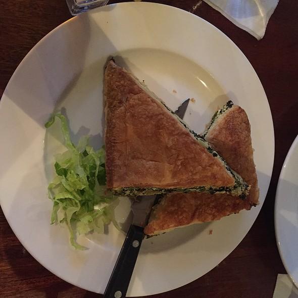 Spanikopita - Faros Restaurant, Brooklyn, NY