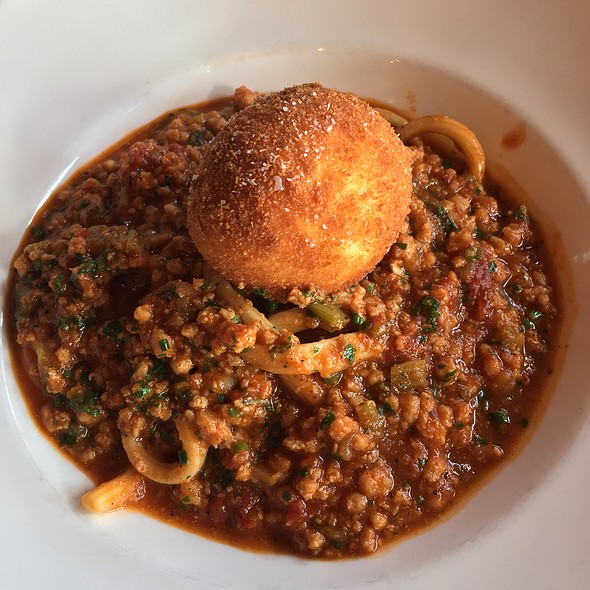 Alligator Bolognese - La Petite Grocery, New Orleans, LA