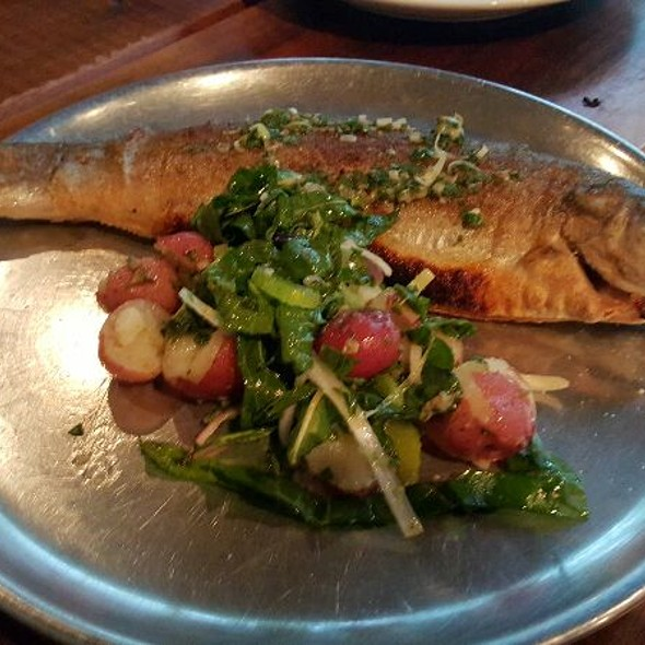 Whole Trout - City House, Nashville, TN