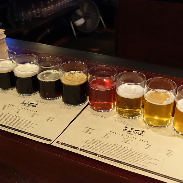 Beer Flight - Goose Island Brewery, Chicago, IL