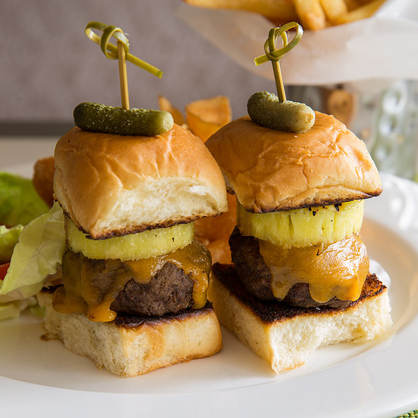 Island Teriyaki Sliders - Glenmorgan Bar & Grill at the Radnor Hotel, St. Davids, PA