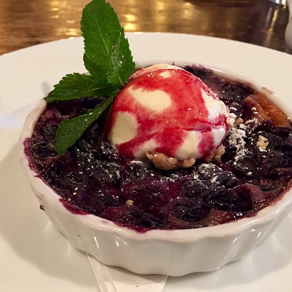 Blueberries And Cream - Restaurant Orsay, Jacksonville, FL