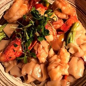 Shrimp & Lobster Chow Fun - Buddakan NY, New York, NY