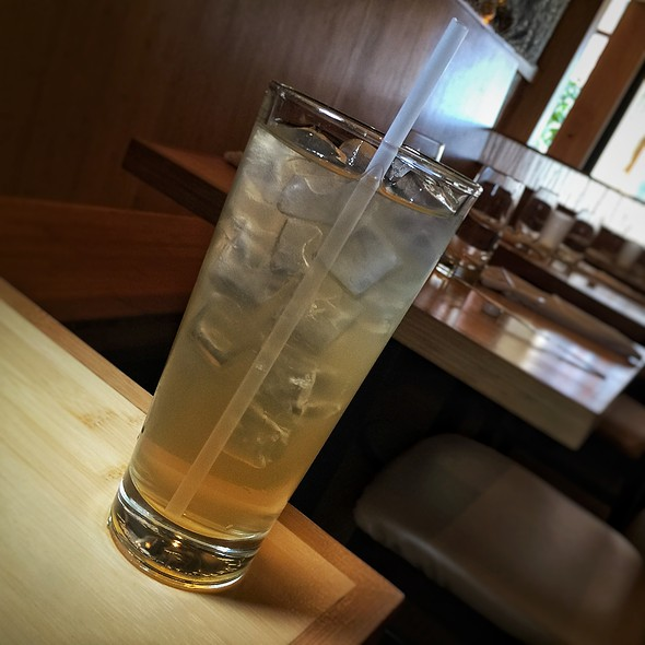 Kana Ginger Tea - Pacific Rim, Ann Arbor, MI