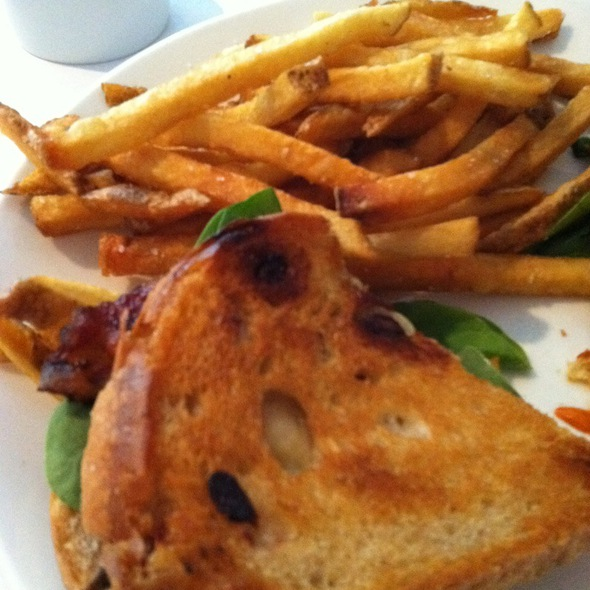 Apple Bacon Grilled Cheese - Rigby's, Rehoboth Beach, DE