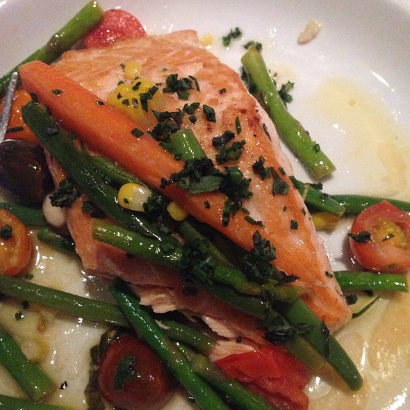 Bay Of Fundy Salmon - Wildfish Seafood Grille - Newport Beach, Newport Beach, CA