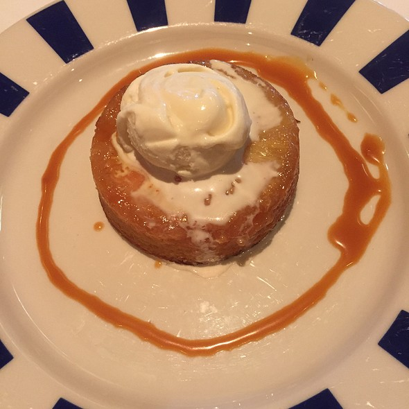pineapple upside-down cake - Blue Ridge Grill, Atlanta, GA