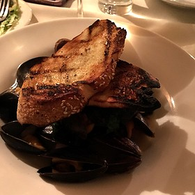 Steamed Mussels - Muse Restaurant, Charleston, SC