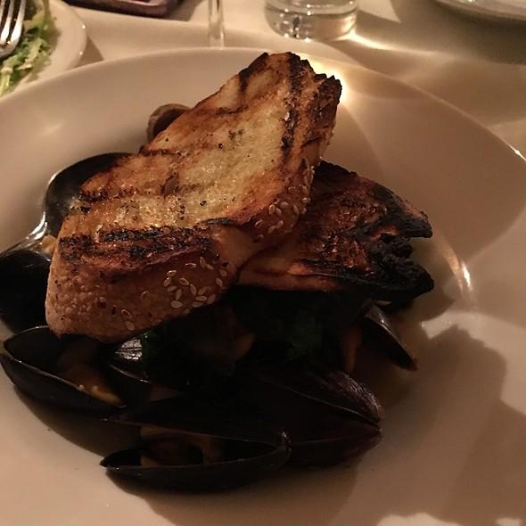 Steamed Mussels - Muse Restaurant, Charleston, SC