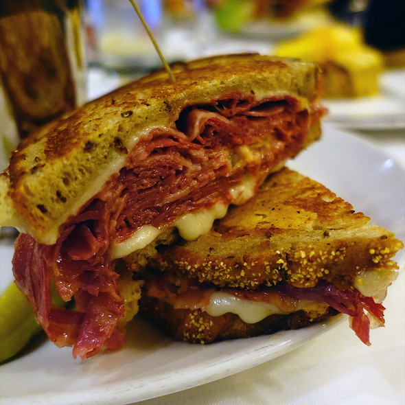 Reuben Sandwich - RL Restaurant, Chicago, IL
