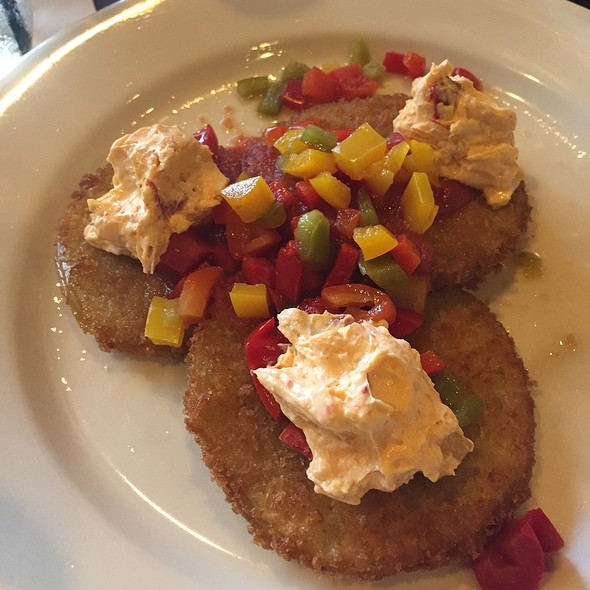 Fried Green Tomatoes - Fat Hen, Johns Island, SC