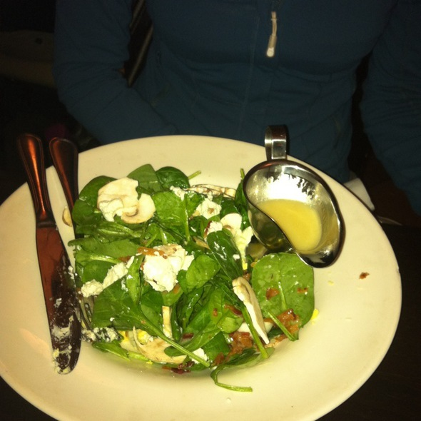 Spinach Salad - Regional, New York, NY
