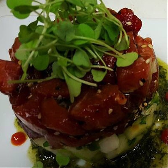 1+ Hawaiian Tuna Poke - SeaBlue Restaurant & Wine Bar, North Myrtle Beach, SC