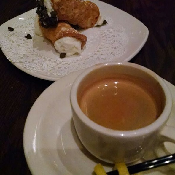 Canolli And Espresso - VIA Italian Table, Worcester, MA