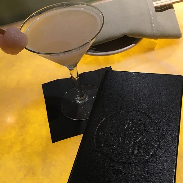 Calpico Lychee Martini - Izakaya Fu-Ga, Los Angeles, CA