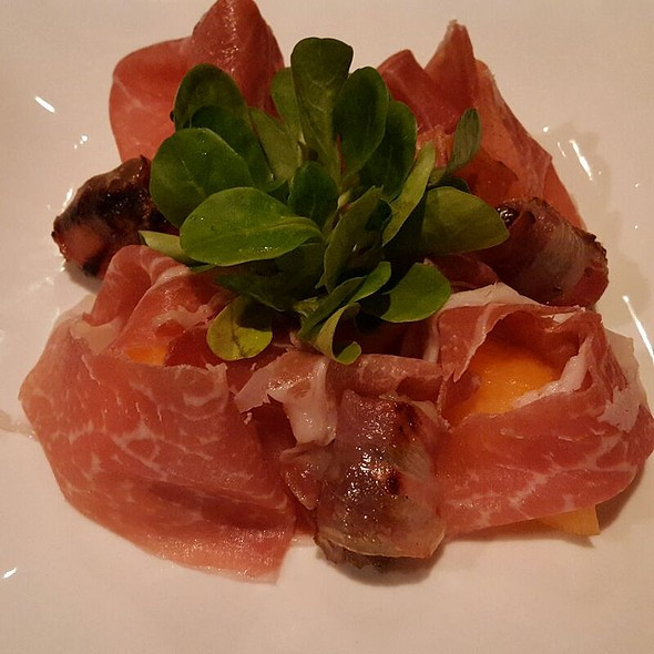 Parma Prosciutto With Grilled Dates - Etcetera Etcetera, New York, NY