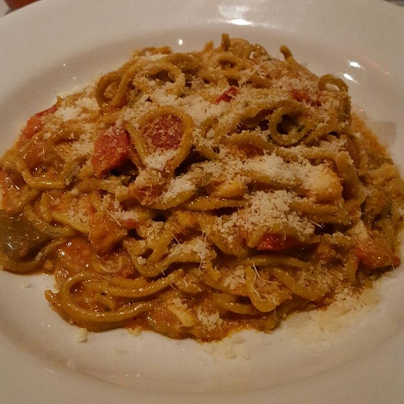 Basil Spaghetti With Jaco Lump Crab Meat Ragout  - Etcetera Etcetera, New York, NY