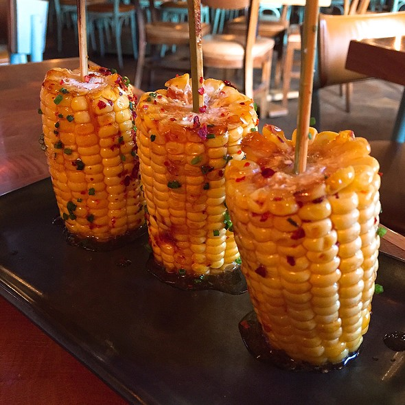 Corn Skewers - Catch New York, New York, NY