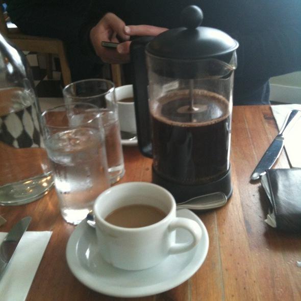Coffee Press - The Park Restaurant, Los Angeles, CA