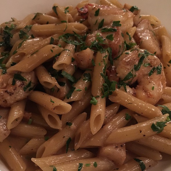 Penne Seafood Alfredo - Lavo - NYC, New York, NY