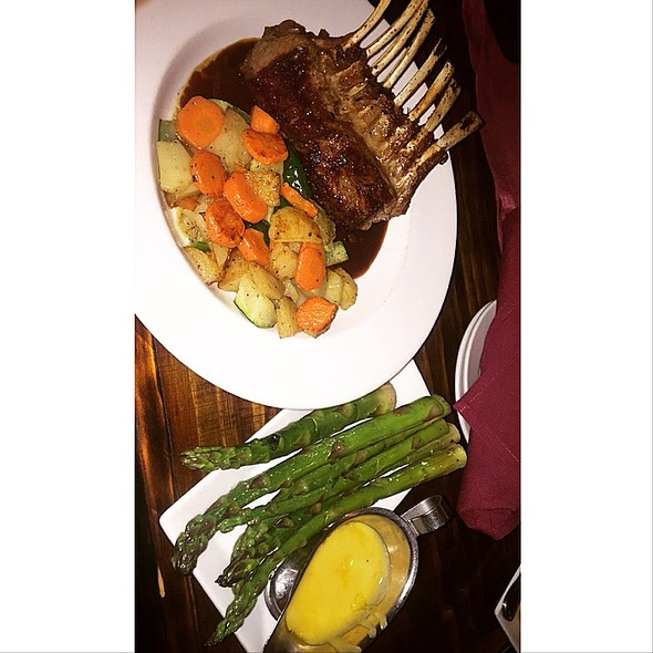 Roasted Rack of Lamb - Marmont Steakhouse, Philadelphia, PA