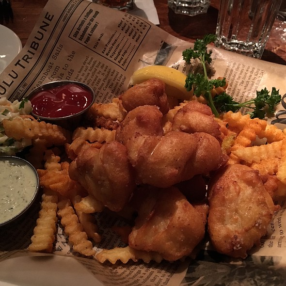 Walleye Fish And Chips - Twin City Grill, Bloomington, MN