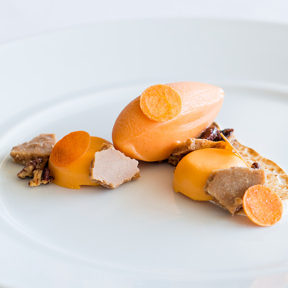 Sweet Potato Cremeux - Patina Restaurant, Los Angeles, CA