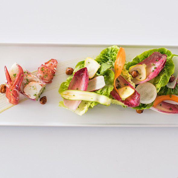 Lobster Salad - Tangata Restaurant, Santa Ana, CA