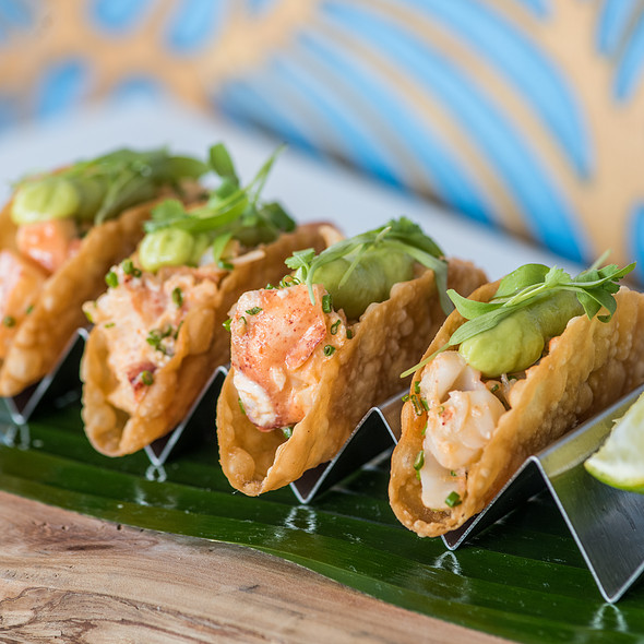 Spicy Lobster Tacos - Tangata Restaurant, Santa Ana, CA
