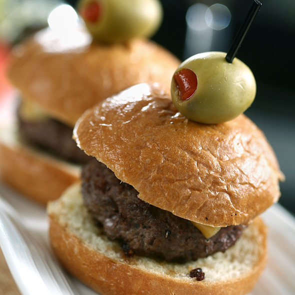Kobe Beef Sliders - SeaBlue Restaurant & Wine Bar, North Myrtle Beach, SC