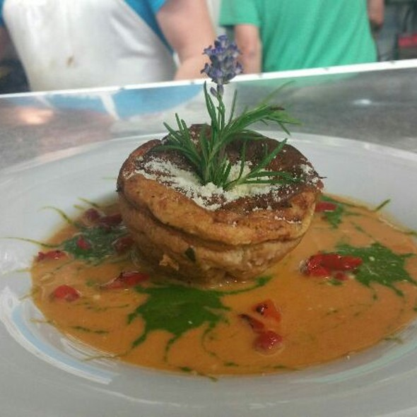 Blue Crab Soufflé  - Brentwood Restaurant & Wine Bistro, Little River, SC