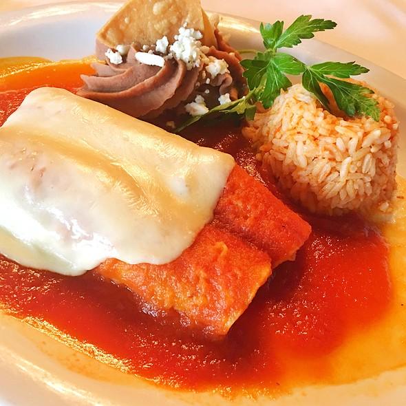 Chicken Enchiladas - Tequila's Restaurant, Philadelphia, PA