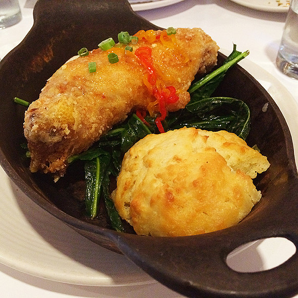 Fried Chicken with Homemade Pepper Jelly - Borgne, New Orleans, LA