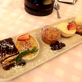 Dessert Sampler - Maggiano's - Indianapolis, Indianapolis, IN