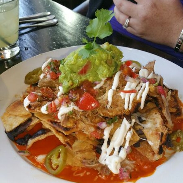 Carnitas Nachos - Tortilla Republic WeHo, West Hollywood, CA