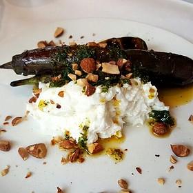 Buratta And Grilled Eggplant - Herbsaint, New Orleans, LA