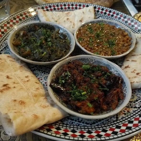 Mezze Dip Selection - El Bahia Moroccan Restaurant, Dublin, Co. Dublin