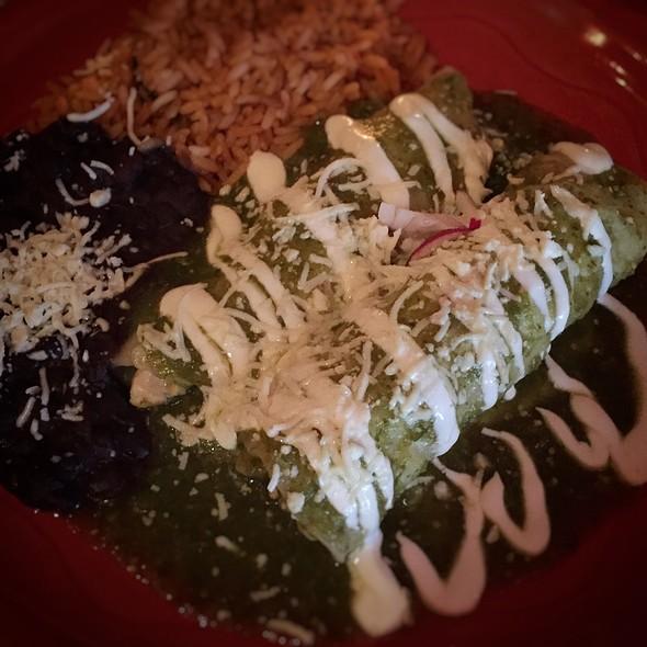 Enchiladas de Pollo - Mad Dog & Beans Mexican Cantina, New York, NY